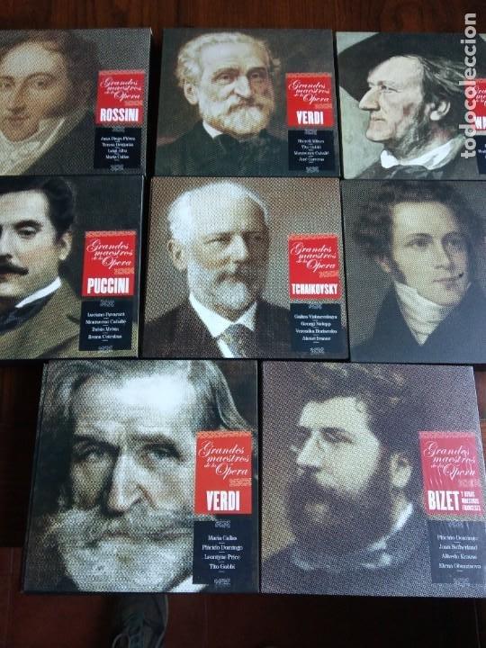 GRANDES MAESTROS DE LA ÓPERA. (Música - CD's Clásica, Ópera, Zarzuela y Marchas)