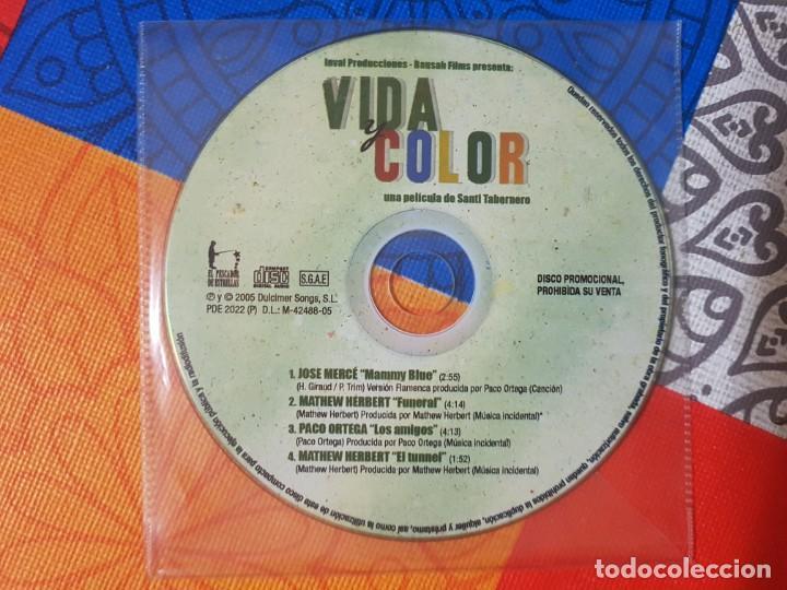 BSO ORIGINAL VIDA Y COLOR CON TEMAS DE JOSÉ MERCÉ (MAMMY BLUE), PACO ORTEGA, ETC. CINE ESPAÑOL (Música - CD's Bandas Sonoras)