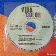CDs de Música: BSO ORIGINAL VIDA Y COLOR CON TEMAS DE JOSÉ MERCÉ (MAMMY BLUE), PACO ORTEGA, ETC. CINE ESPAÑOL. Lote 225805110