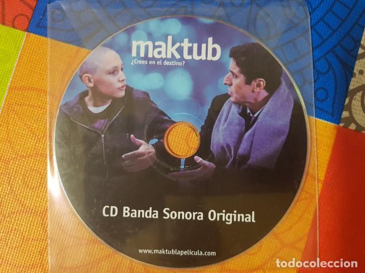 BSO ORIGINAL MAKTUB. CINE ESPAÑOL Y LATINOAMERICANO (Música - CD's Bandas Sonoras)