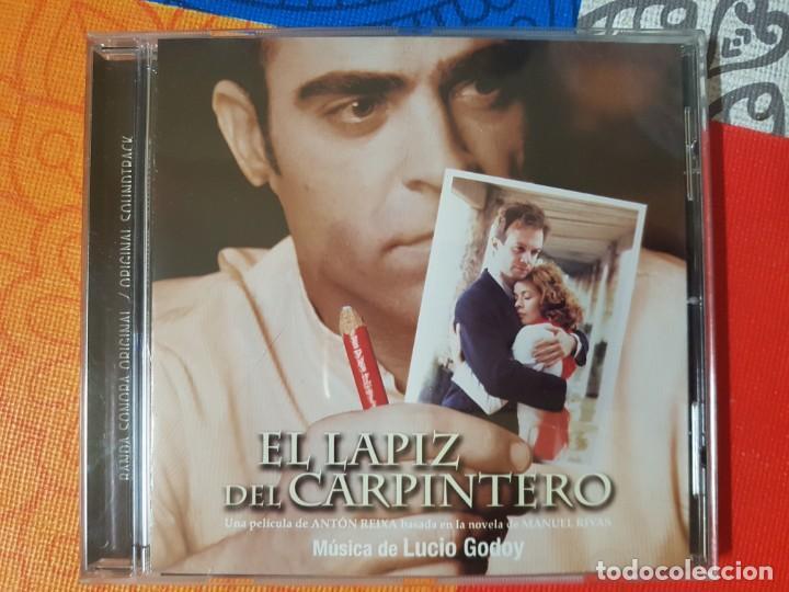 BSO ORIGINAL EL LÁPIZ DEL CARPINTERO CON TEMAS DE LUCIO GODOY. CINE ESPAÑOL (Música - CD's Bandas Sonoras)