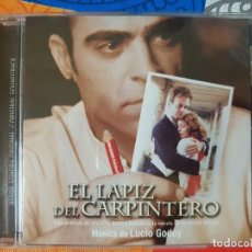 CDs de Música: BSO ORIGINAL EL LÁPIZ DEL CARPINTERO CON TEMAS DE LUCIO GODOY. CINE ESPAÑOL. Lote 225810760