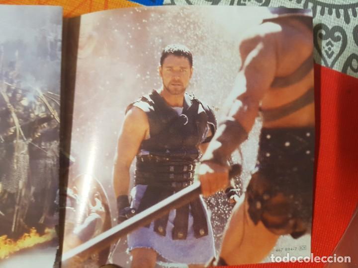 CDs de Música: BSO Original Gladiator con temas de Hans Zimmer y Lisa Gerrard. Cine Épico - Foto 2 - 225813535