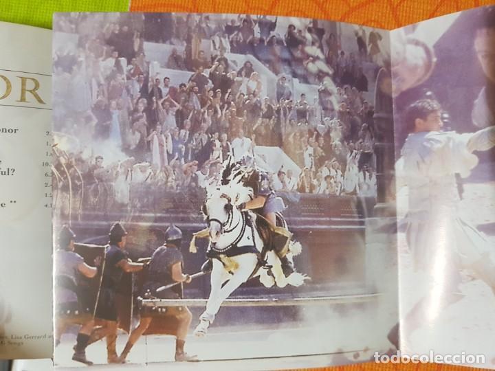 CDs de Música: BSO Original Gladiator con temas de Hans Zimmer y Lisa Gerrard. Cine Épico - Foto 3 - 225813535