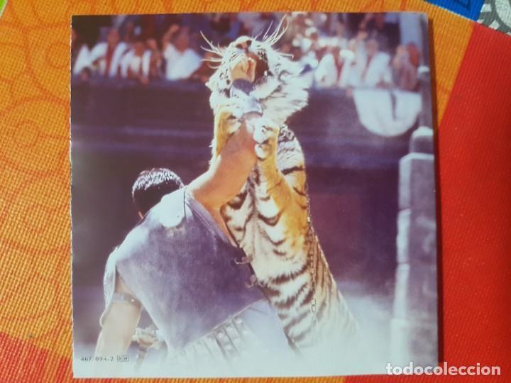 CDs de Música: BSO Original Gladiator con temas de Hans Zimmer y Lisa Gerrard. Cine Épico - Foto 4 - 225813535