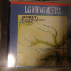 CDs de Música: BRIAN ENO-AMBIENT 1: MUSIC FOR AIRPORTS. Lote 225849867