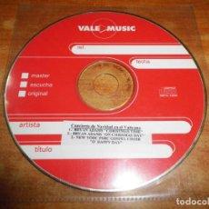 CDs de Música: CONCIERTO DE NAVIDAD EN EL VATICANO CD SINGLE PROMO BRYAN ADAMS CHRISTMAS TIME CONTIENE 3 TEMAS. Lote 225869316