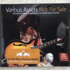 CDs de Música: VARIOUS ASSETS - RED BULL MUSIC ACADEMY MADRID (2011). Lote 225915040