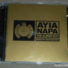 CDs de Música: MINISTRY OF SOUND THE ALBUM 2001. AYIA NAPA. Lote 225934180