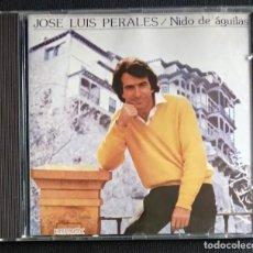 CDs de Música: CD 1991 (NUEVO) - JOSE LUIS PERALES / NIDO DE AGUILAS. Lote 225964456