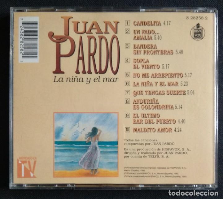 CDs de Música: CD 1993 (nuevo) - JUAN PARDO / LA NIÑA Y EL MAR - Foto 2 - 225967341