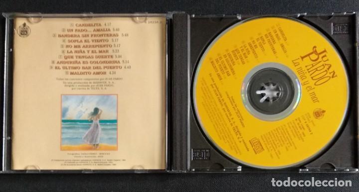 CDs de Música: CD 1993 (nuevo) - JUAN PARDO / LA NIÑA Y EL MAR - Foto 3 - 225967341