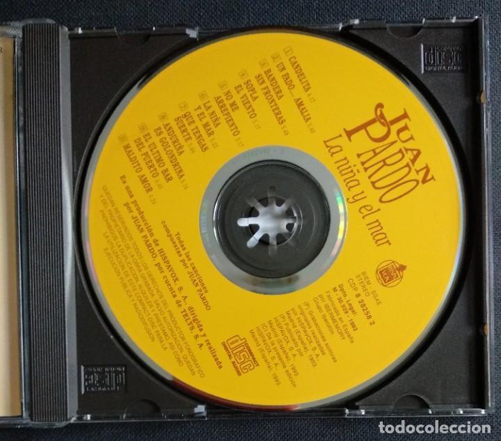 CDs de Música: CD 1993 (nuevo) - JUAN PARDO / LA NIÑA Y EL MAR - Foto 5 - 225967341