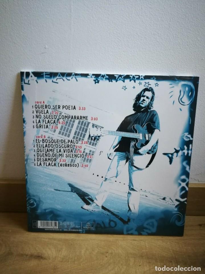 CDs de Música: JARABE DE PALO - LA FLACA - LP + CD - NUEVO Y PRECINTADO - PAU DONES - - Foto 2 - 225991780