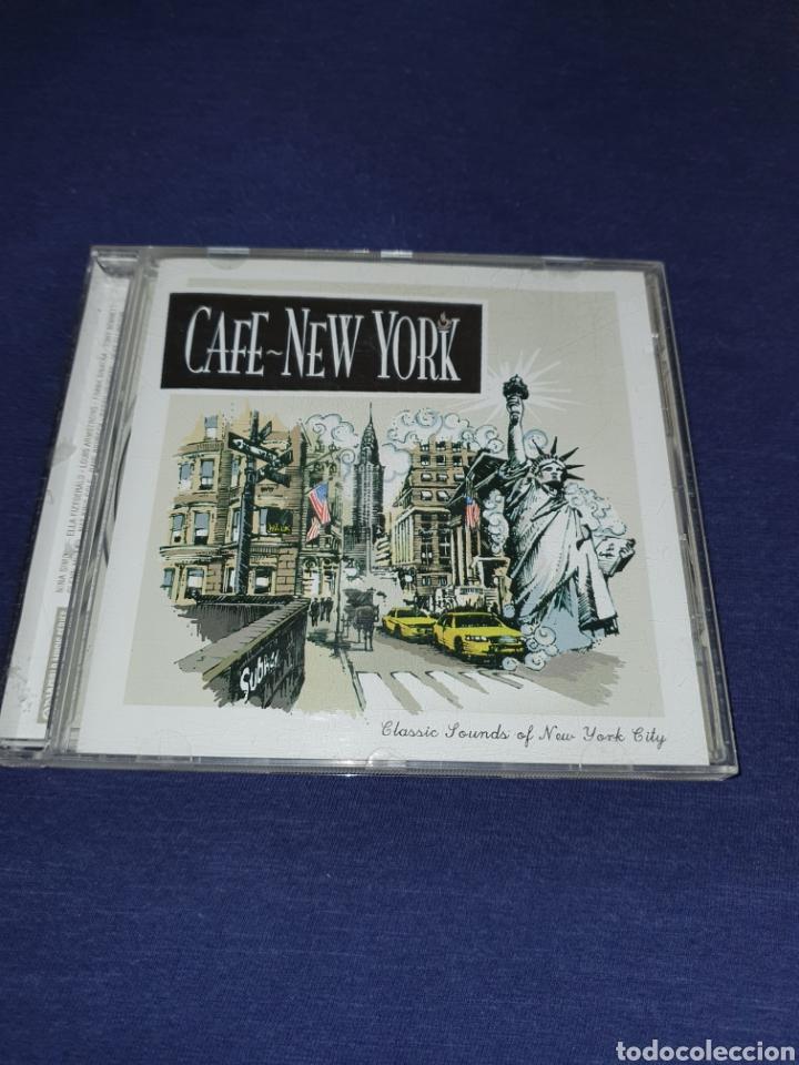 CAFE NEW YORK RECOPILATORIO (Música - CD's Jazz, Blues, Soul y Gospel)