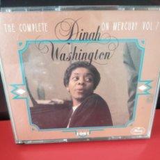 CDs de Música: DINAH WASHINGTON (THE COMPLETE D.W. ON MERCURY VOL 7) TRIPLE CD 68 TRACKS (CDIB10). Lote 226040340