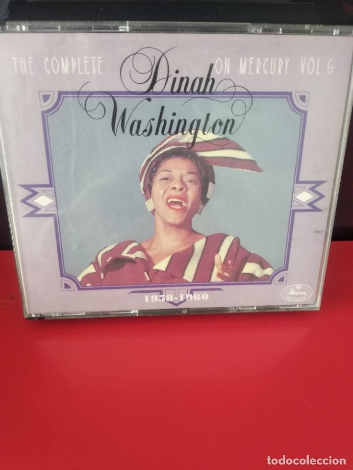 DINAH WASHINGTON (THE COMPLETE D.W. ON MERCURY VOL 6) TRIPLE CD 73TRACKS (Música - CD's Jazz, Blues, Soul y Gospel)