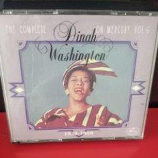 CDs de Música: DINAH WASHINGTON (THE COMPLETE D.W. ON MERCURY VOL 6) TRIPLE CD 73TRACKS. Lote 226041272
