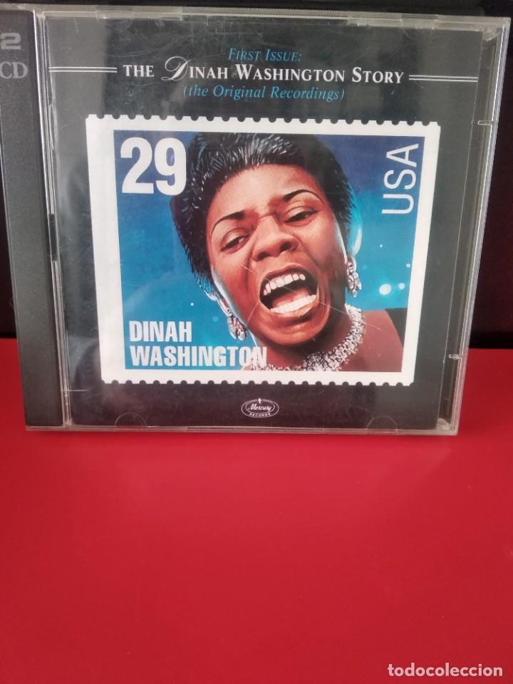 DINAH WASHINGTON DOBLE CD 46TRACKS (Música - CD's Jazz, Blues, Soul y Gospel)