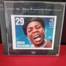 CDs de Música: DINAH WASHINGTON DOBLE CD 46TRACKS. Lote 226042620