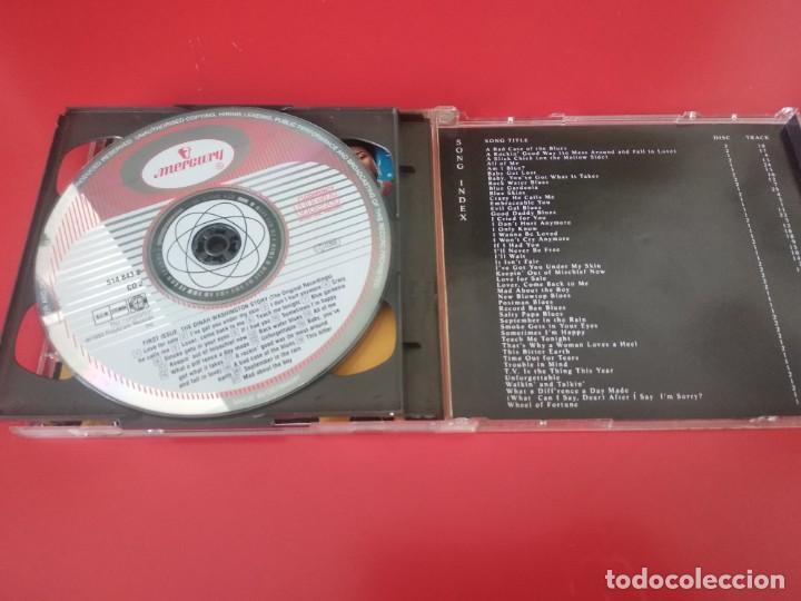 CDs de Música: DINAH WASHINGTON DOBLE CD 46TRACKS - Foto 3 - 226042620