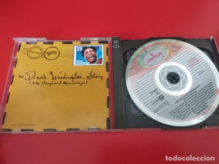 CDs de Música: DINAH WASHINGTON DOBLE CD 46TRACKS - Foto 4 - 226042620