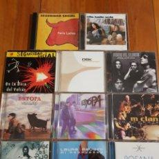 CDs de Música: 11 CDS SEGURIDAD SOCIAL, OBK, HÉROES DEL SILENCIO, ROSANA, ESTOPA, JARABE DE PALO, M CLAN. Lote 226065320