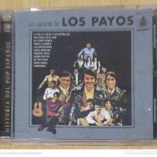 CDs de Música: LOS PAYOS (LO MEJOR DE LOS PAYOS) CD 1996 SERIE HISTORIA DEL POP ESPAÑOL. Lote 226081235