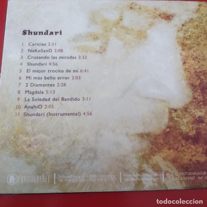 CDs de Música: QB2- SHUNDARI - Foto 3 - 226087372