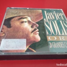 CDs de Musique: JAVIER SOLIS (ORO - 20 GRANDES CANCIONES) 2 CDS 1994. Lote 226090207