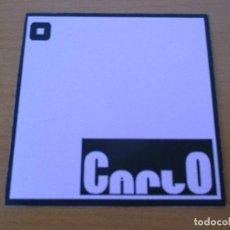 CDs de Música: CARLO DEMO MAQUETA 2005 10 CANCIONES CON CARTA MANUSCRITA. Lote 226093780