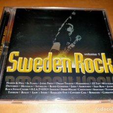 CDs de Música: SWEDEN ROCK 2 CD VOL. 1 RARE, SWEDEDEN PRESS 2009 *MINT:-BONAFIDE-HEAT-AVANTASIA. Lote 226095460