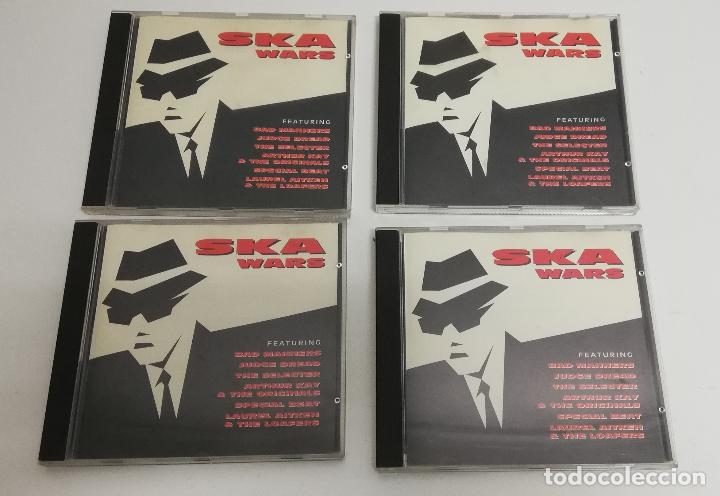 LOTE 4 CD SKA WARS - RECOPILATORIO - BAD MANNERS - JUDGE DREAD - VARIOS (Música - CD's Reggae)