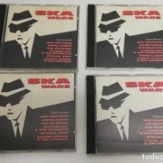 CDs de Música: LOTE 4 CD SKA WARS - RECOPILATORIO - BAD MANNERS - JUDGE DREAD - VARIOS. Lote 226106455