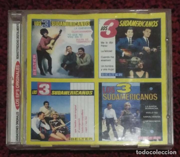 LOS 3 SUDAMERICANOS (LOS EP'S ORIGINALES) CD 2003 (Música - CD's Latina)