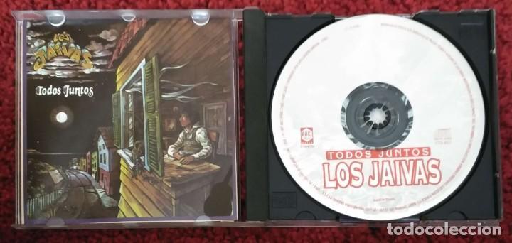CDs de Música: LOS JAIVAS (TODOS JUNTOS) CD 1997 Edición Chilena - Foto 3 - 226120292