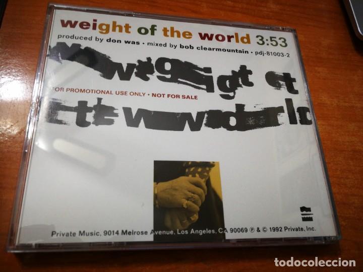CDs de Música: RINGO STARR Weight of the world CD SINGLE PROMOCIONAL USA DEL AÑO 1992 THE BEATLES 1 TEMA - Foto 2 - 226124825
