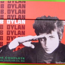 CDs de Música: LOTE BOB DYLAN: THE COMPLETE ALBUM COLLECTION (47 CDS + BOOK). Lote 226125045