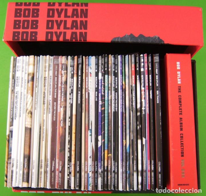CDs de Música: Lote BOB DYLAN: THE COMPLETE ALBUM COLLECTION (47 CDs + BOOK) - Foto 3 - 226125045