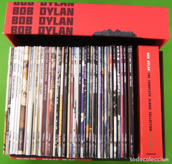 CDs de Música: Lote BOB DYLAN: THE COMPLETE ALBUM COLLECTION (47 CDs + BOOK) - Foto 4 - 226125045