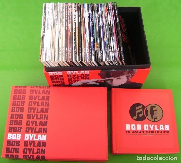 CDs de Música: Lote BOB DYLAN: THE COMPLETE ALBUM COLLECTION (47 CDs + BOOK) - Foto 9 - 226125045