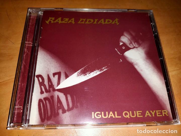 RAZA ODIADA CD RARE ARGENTINA HEAVY 2005-HELKER-RATA BLANCA-MAGO DE OZ-SARATOGA-MAGO DE OZ-DRAMAH (Música - CD's Heavy Metal)