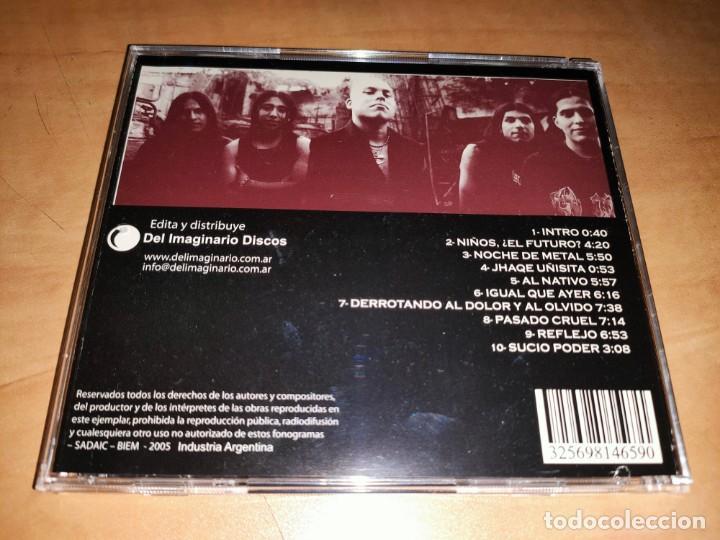 CDs de Música: RAZA ODIADA CD Rare ARGENTINA HEAVY 2005-HELKER-RATA BLANCA-MAGO DE OZ-SARATOGA-MAGO DE OZ-DRAMAH - Foto 2 - 226141810