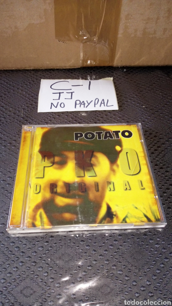 ATENCIÓN SOLO CAJA FALTA CD POTATO PKO ORIGINAL (Música - CD's Reggae)
