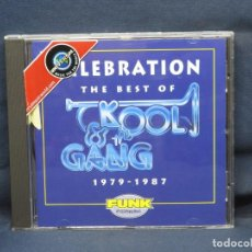 CDs de Musique: KOOL & THE GANG - CELEBRATION THE BEST OF KOOL & THE GANG 1979 - 1987 - CD. Lote 226359525
