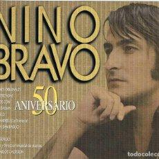 CDs de Música: NINO BRAVO - 50 ANIVERSARIO. CD DOBLE. Lote 226361075