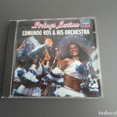 CDs de Música: STRINGS LATINO EDMUNDO ROS & HIS ORCHESTRA - LONDON 820 280-2 - EXCELENTE ESTADO. Lote 226380337