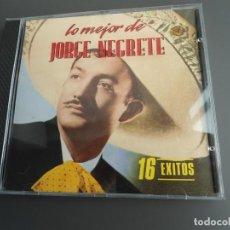 CDs de Música: LO MEJOR DE JORGE NEGRETE (16 EXITOS) - RCA CD 71773 - EXCELENTE ESTADO. Lote 226385200