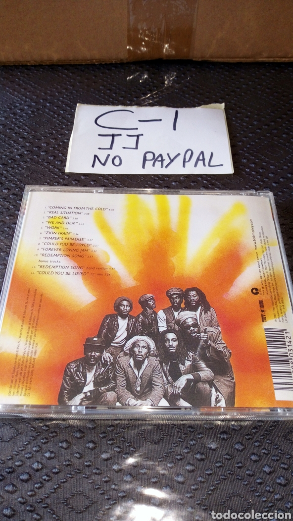 CDs de Música: CD musica reggae bob marley the wailers - Foto 2 - 226426419