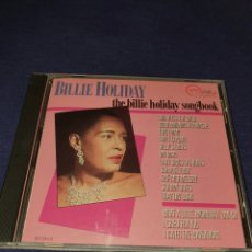 CDs de Música: BILLIE HOLIDAY THE BILLIE HOLIDAY SONGBOOK. Lote 226469675